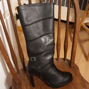 HARLEY DAVIDSON Calf high Spiked Boots